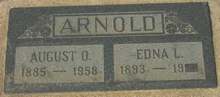 ARNOLD, AUGUST O. - Maricopa County, Arizona | AUGUST O. ARNOLD - Arizona Gravestone Photos