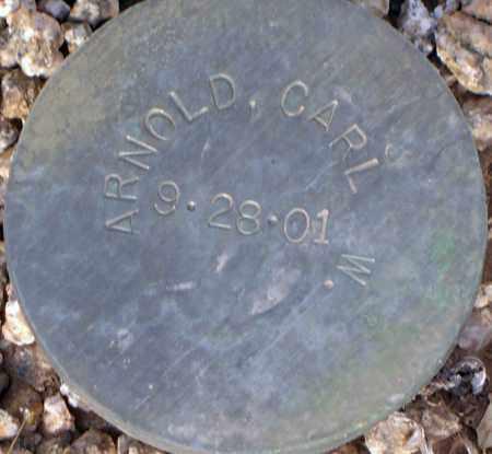 ARNOLD, CARL W. - Maricopa County, Arizona | CARL W. ARNOLD - Arizona Gravestone Photos