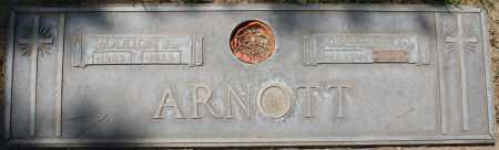 ARNOTT, JOSEPHINE A. - Maricopa County, Arizona | JOSEPHINE A. ARNOTT - Arizona Gravestone Photos