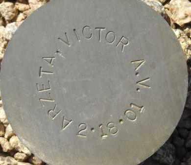 ARZETA, VICTOR A.V. - Maricopa County, Arizona | VICTOR A.V. ARZETA - Arizona Gravestone Photos