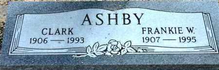 ASHBY, FRANKIE MAE - Maricopa County, Arizona | FRANKIE MAE ASHBY - Arizona Gravestone Photos