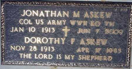 ASKEW, JONATHAN M. - Maricopa County, Arizona | JONATHAN M. ASKEW - Arizona Gravestone Photos