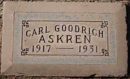 ASKREN, CARL GOODRICH - Maricopa County, Arizona | CARL GOODRICH ASKREN - Arizona Gravestone Photos