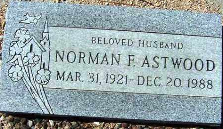 ASTWOOD, NORMAN F. - Maricopa County, Arizona | NORMAN F. ASTWOOD - Arizona Gravestone Photos