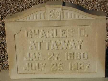 ATTAWAY, CHARLES D. - Maricopa County, Arizona | CHARLES D. ATTAWAY - Arizona Gravestone Photos