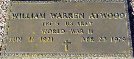 ATWOOD, WILLIAM WARREN - Maricopa County, Arizona   WILLIAM WARREN ATWOOD - Arizona Gravestone Photos