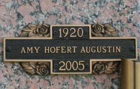 HOFERT AUGUSTIN, AMY - Maricopa County, Arizona | AMY HOFERT AUGUSTIN - Arizona Gravestone Photos