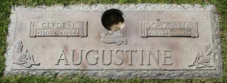 AUGUSTINE, CLYDE J - Maricopa County, Arizona   CLYDE J AUGUSTINE - Arizona Gravestone Photos
