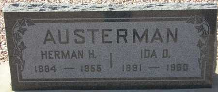 AUSTERMAN, IDA D. - Maricopa County, Arizona | IDA D. AUSTERMAN - Arizona Gravestone Photos