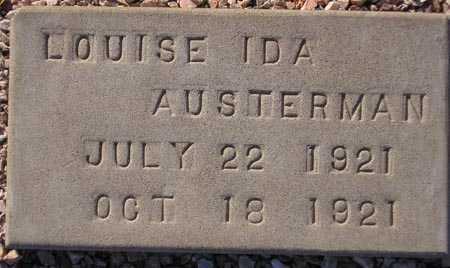 AUSTERMAN, LOUISE IDA - Maricopa County, Arizona | LOUISE IDA AUSTERMAN - Arizona Gravestone Photos