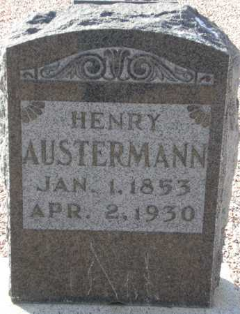 AUSTERMANN, HENRY - Maricopa County, Arizona   HENRY AUSTERMANN - Arizona Gravestone Photos
