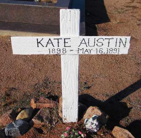 AUSTIN, KATE - Maricopa County, Arizona | KATE AUSTIN - Arizona Gravestone Photos