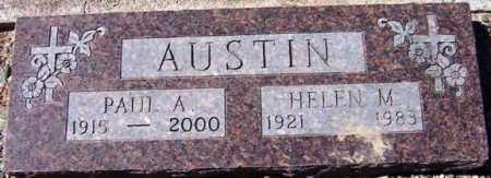 AUSTIN, HELEN M. - Maricopa County, Arizona | HELEN M. AUSTIN - Arizona Gravestone Photos