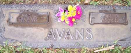 AVANS, MARY E. - Maricopa County, Arizona | MARY E. AVANS - Arizona Gravestone Photos