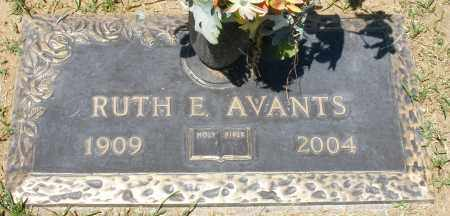 AVANTS, RUTH E. - Maricopa County, Arizona | RUTH E. AVANTS - Arizona Gravestone Photos