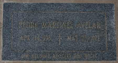 AVELAR, PEDRO MARTINEZ - Maricopa County, Arizona   PEDRO MARTINEZ AVELAR - Arizona Gravestone Photos