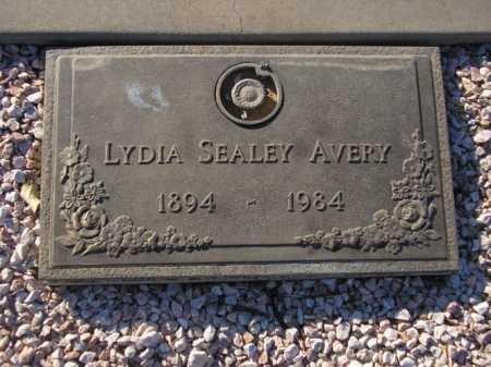 AVERY, LYDIA SEALEY - Maricopa County, Arizona | LYDIA SEALEY AVERY - Arizona Gravestone Photos