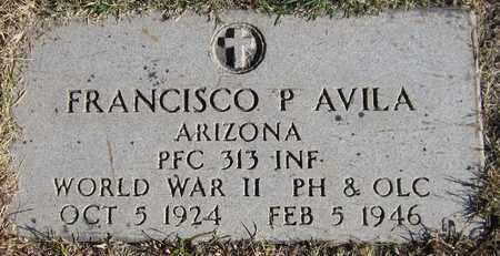AVILA, FRANCISCO P. - Maricopa County, Arizona   FRANCISCO P. AVILA - Arizona Gravestone Photos