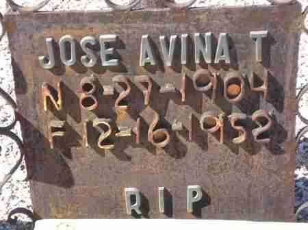 AVINA, JOSE - Maricopa County, Arizona | JOSE AVINA - Arizona Gravestone Photos