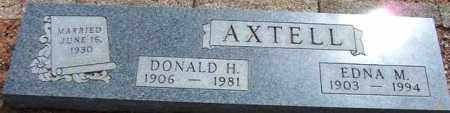 AXTELL, DONALD H. - Maricopa County, Arizona | DONALD H. AXTELL - Arizona Gravestone Photos