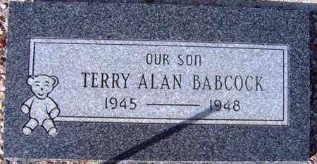 BABCOCK, TERRY ALAN - Maricopa County, Arizona | TERRY ALAN BABCOCK - Arizona Gravestone Photos