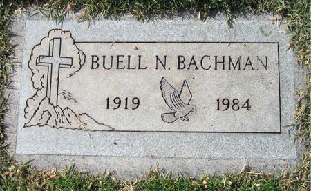 BACHMAN, BUELL N - Maricopa County, Arizona | BUELL N BACHMAN - Arizona Gravestone Photos