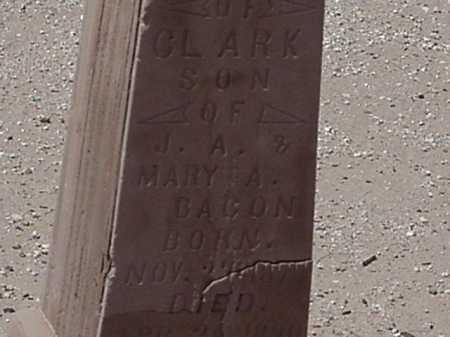 BACON, CLARK - Maricopa County, Arizona | CLARK BACON - Arizona Gravestone Photos