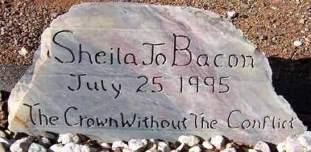 BACON, SHEILA JO - Maricopa County, Arizona   SHEILA JO BACON - Arizona Gravestone Photos
