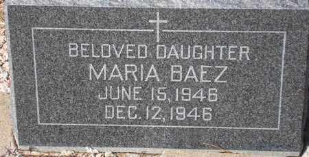 BAEZ, MARIA - Maricopa County, Arizona   MARIA BAEZ - Arizona Gravestone Photos