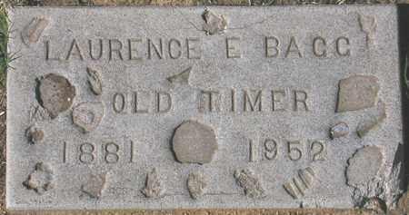 BAGG, LAURENCE E. - Maricopa County, Arizona   LAURENCE E. BAGG - Arizona Gravestone Photos