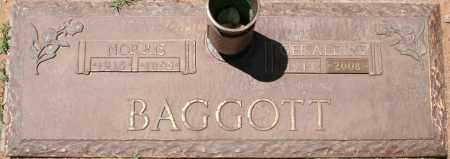 BAGGOTT, NORRIS - Maricopa County, Arizona | NORRIS BAGGOTT - Arizona Gravestone Photos