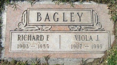 BAGLEY, RICHARD F. - Maricopa County, Arizona | RICHARD F. BAGLEY - Arizona Gravestone Photos