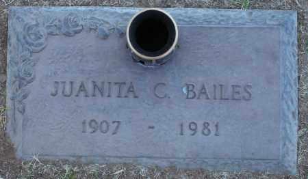 BAILES, JUANITA C - Maricopa County, Arizona   JUANITA C BAILES - Arizona Gravestone Photos