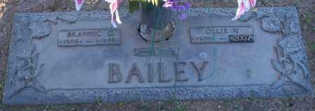 BAILEY, OLLIE V - Maricopa County, Arizona   OLLIE V BAILEY - Arizona Gravestone Photos