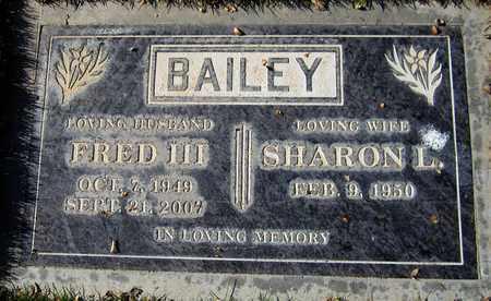 BAILEY, SHARON L. - Maricopa County, Arizona | SHARON L. BAILEY - Arizona Gravestone Photos