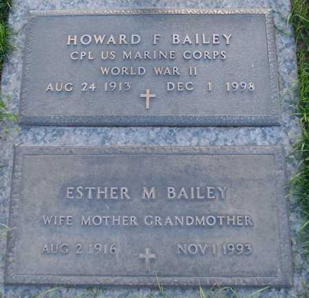 BAILEY, HOWARD F - Maricopa County, Arizona | HOWARD F BAILEY - Arizona Gravestone Photos