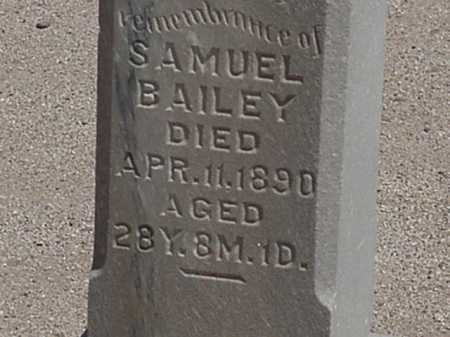 BAILEY, SAMUEL - Maricopa County, Arizona   SAMUEL BAILEY - Arizona Gravestone Photos