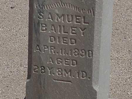 BAILEY, SAMUEL - Maricopa County, Arizona | SAMUEL BAILEY - Arizona Gravestone Photos