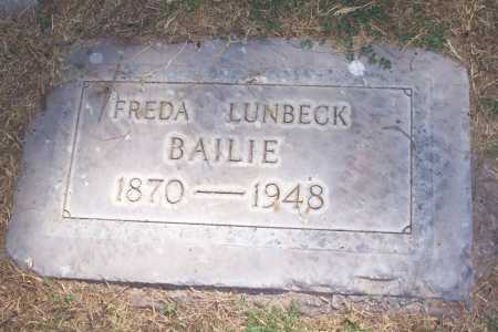 BAILIE, FREDA - Maricopa County, Arizona | FREDA BAILIE - Arizona Gravestone Photos
