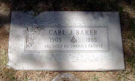 BAKER, CARL J. - Maricopa County, Arizona | CARL J. BAKER - Arizona Gravestone Photos