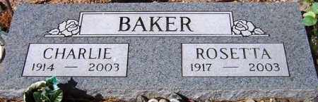 BAKER, ROSETTA - Maricopa County, Arizona | ROSETTA BAKER - Arizona Gravestone Photos
