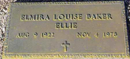 BAKER, ELMIRA LOUISE - Maricopa County, Arizona | ELMIRA LOUISE BAKER - Arizona Gravestone Photos