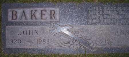 BAKER, ANNA - Maricopa County, Arizona | ANNA BAKER - Arizona Gravestone Photos