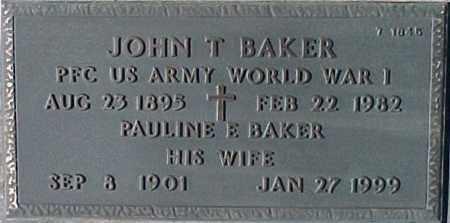 BAKER, PAULINE E. - Maricopa County, Arizona | PAULINE E. BAKER - Arizona Gravestone Photos