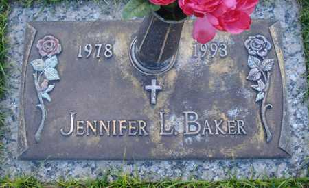 BAKER, JENNIFER L. - Maricopa County, Arizona | JENNIFER L. BAKER - Arizona Gravestone Photos