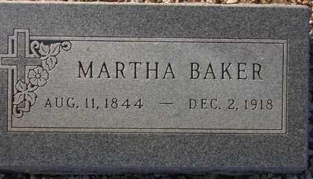 BAKER, MARTHA - Maricopa County, Arizona   MARTHA BAKER - Arizona Gravestone Photos
