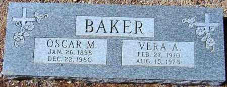 BAKER, OSCAR M. - Maricopa County, Arizona | OSCAR M. BAKER - Arizona Gravestone Photos