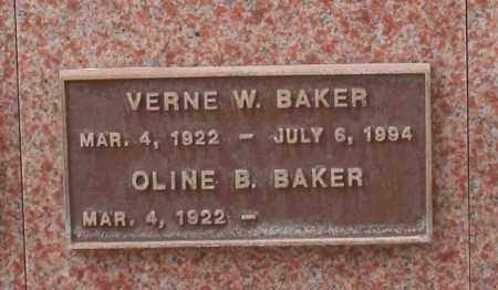 BAKER, VERNE W. - Maricopa County, Arizona | VERNE W. BAKER - Arizona Gravestone Photos