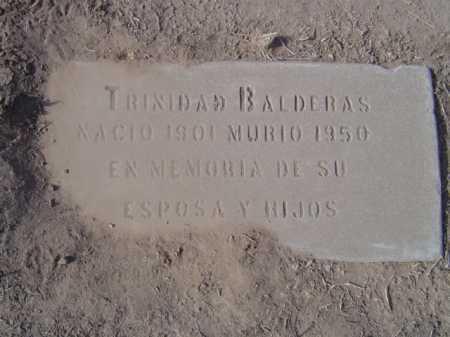BALDERAS, TRINIDAD - Maricopa County, Arizona | TRINIDAD BALDERAS - Arizona Gravestone Photos