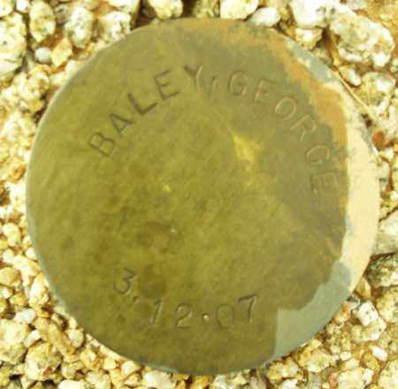 BALEY, GEORGE - Maricopa County, Arizona | GEORGE BALEY - Arizona Gravestone Photos